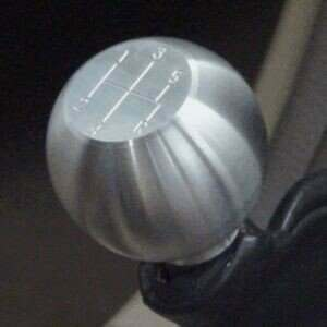 2005-2009 Mustang Round Billet Shift Knob 5spd Logo