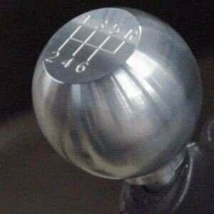 79-04 Billet Round Flat Shift Knob w/6-speed logo - Stock Thread