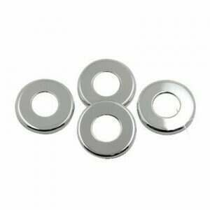 UPR Products  Mustang Billet Cowl Pin Covers (Polished)