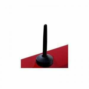 """UPR Billet 3.5"""" Shorty Antenna (Black)"""