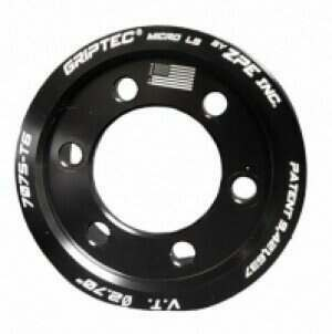 Griptec 6 or 8 rib Supercharger Pulley ring for Procharger Superchargers (hub not included)