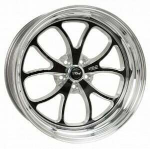"Weld Racing 94-04 Mustang 17 x 9"" S76 Rear Wheel (Black) - 76MB7090A58A"