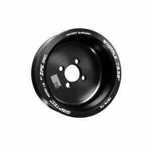 Griptec 6 Rib Supercharger Pulley for Whipple Supercharger