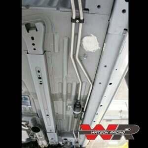 Watson Racing 2005-2014 Mustang Drag Race Stainless Steel Hard Fuel Lines