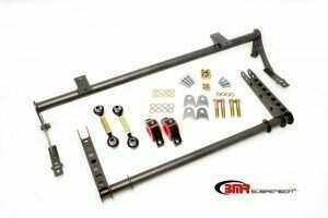 BMR 05-2014 Mustang XTREME Anti-Roll Bar Kit (Black Hammertone)