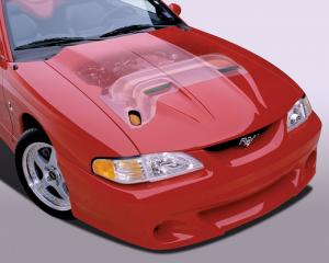 Cervinis 9018 94-95 Mustang 5.0L Ram Air Hood & Kit