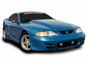 "Cervinis 116 94-98 Mustang 3.5"" Cowl Hood"
