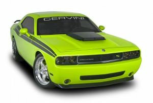 Cervinis 8045 08-17 Challenger R/T & SRT8 T/A Kit - Matte Black Scoop