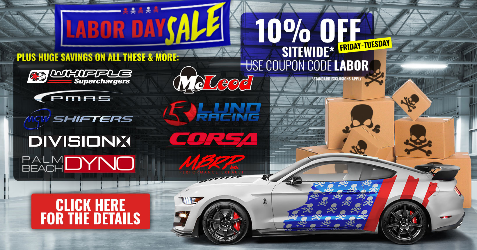 Mustang Parts | Buy Ford Mustang Performance Parts