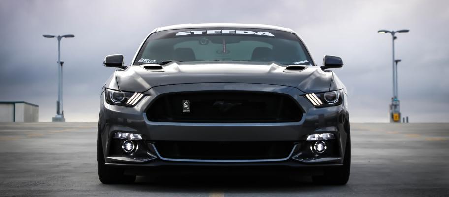 Gun metal Mustang GT